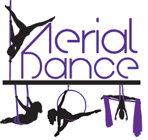 Aerial Dance Pole Exercise
