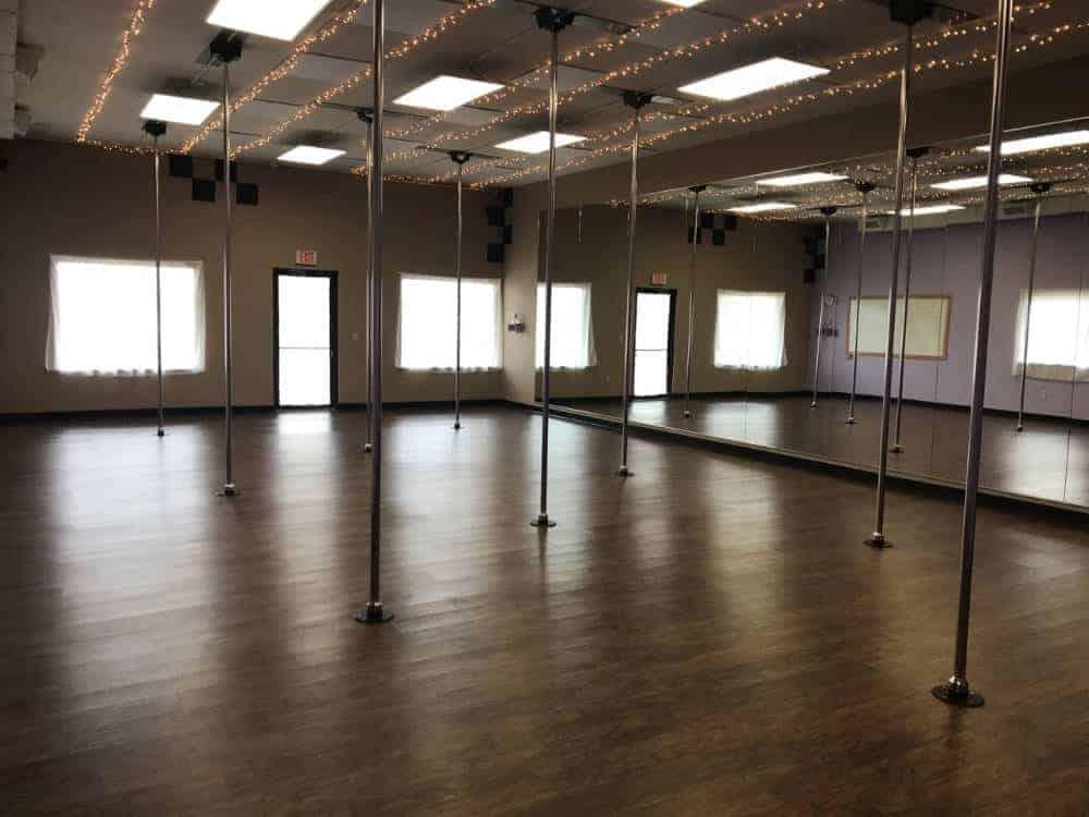 Aerial Dance Appleton Back Pole Studio
