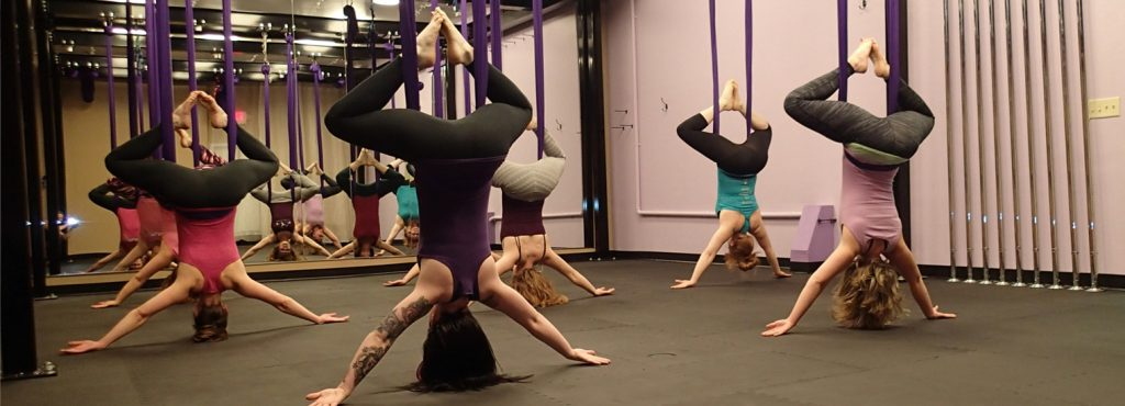 Aerial Yoga Classes in Appleton and Green Bay